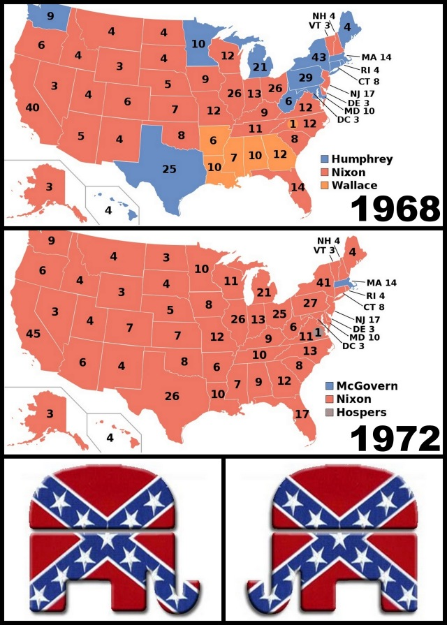 GOP Confederate Southern Strategy