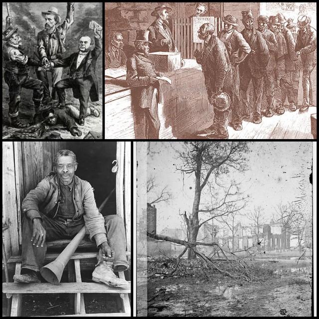 Recontruction Georgia collage