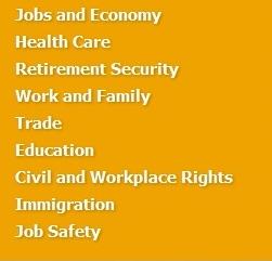 AFL-CIO Issues