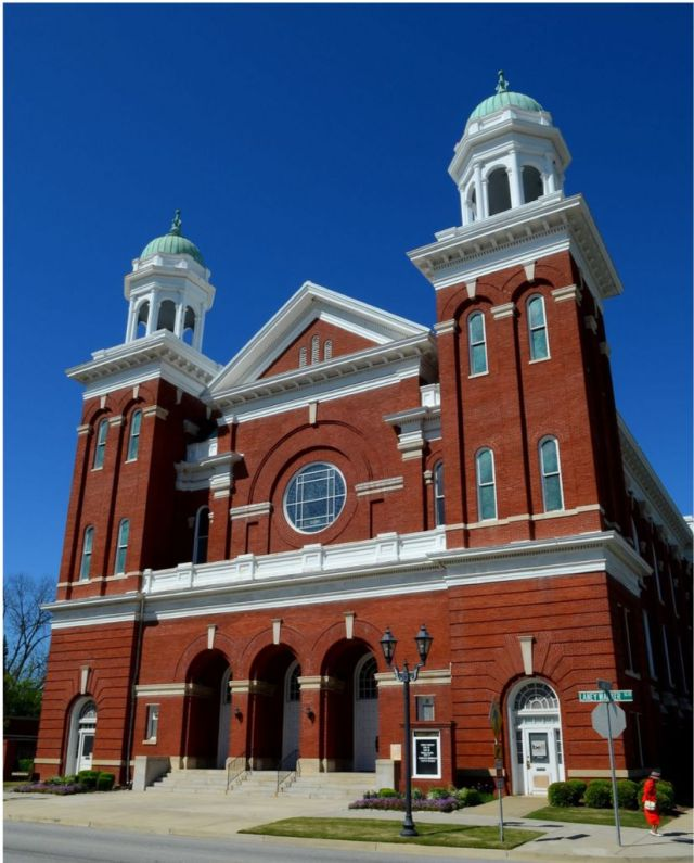 Beautiful photo of Historic Tabernacle Baptist Church in Augusta, Georgia taken on April 3, 2011 by David William Reed