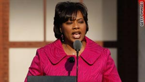 Photo of Bernice King, the CEO of the King Center in Atlanta, Georgia: