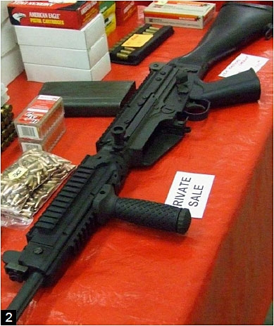Brady Campaign to End Gun Violence photo of assault weapon