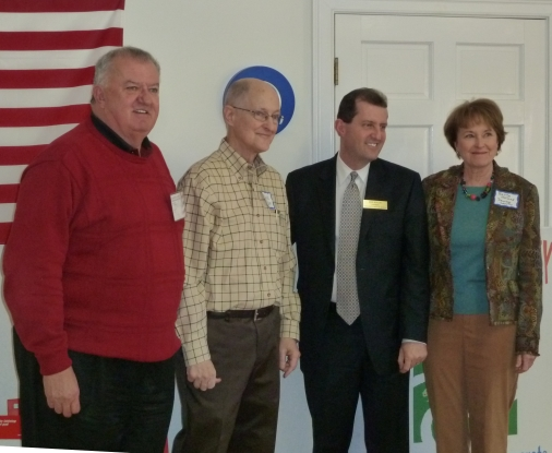 David Robinson, DPG Chairman Mike Berlon, others at 9th District Meeting