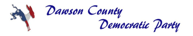 Dawson County Democratic Party Banner