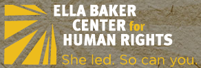 Ella Baker Center for Human Rights Logo