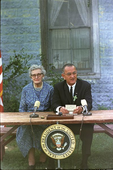 Elementary and Secondary Education Act signed in April 1965 by Pres. Lyndon Johnson