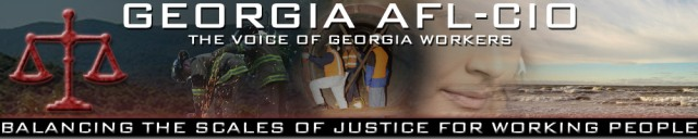 Georgia AFL-CIO Banner