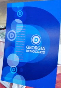Democratic Party of Georgia Logo #3