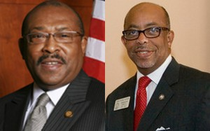 Georgia Rep. Henry Howard and Georgia Rep. Quincy Murphy, both Democrats of Augusta