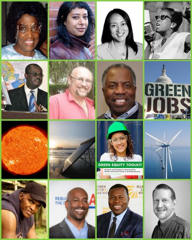 Green Team Collage