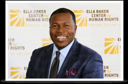 Jakada Imani, Ella Baker Center for Human Rights Executive Director