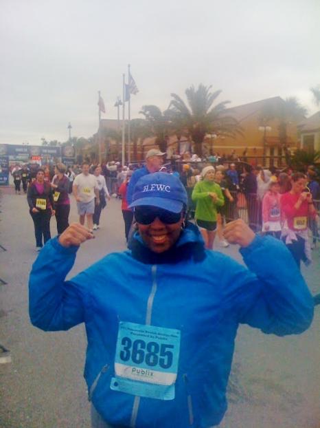 Michelle A. Thorns, runner