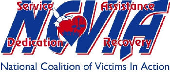 National Coalition of Victims In Action (NCVIA) Logo