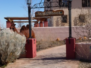 The PDA Team stayed at the gorgeous La Posada in Winslow, Arizona. Photo by Michael Eisenscher from U.S. Labor Against the War.