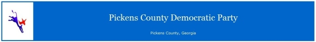 Pickens County Democratic Party Banner