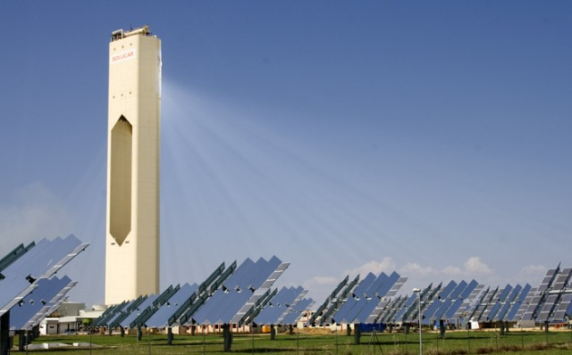 Solucar PS10 is the first solar thermal power plant based on tower in the world that generates electricity in a commercial way.