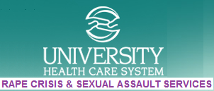 Rape Crisis and Sexual Assault Services (RCSAS) at University Hospital (University Health Systems) in Augusta, Georgia: