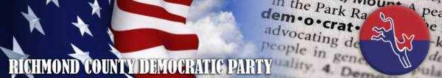 Richmond County Democratic Party Banner