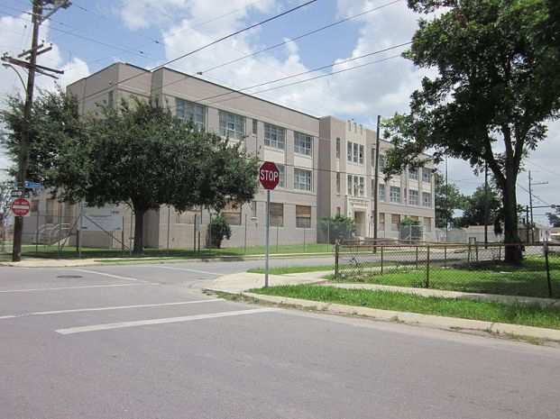 William Franz Elemetary School Photo by (Wikimedia username) Infrogmation of New Orleans