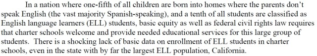 Shocking ELL Data