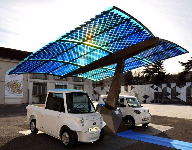 Solar Electric Cars via Wikipedia