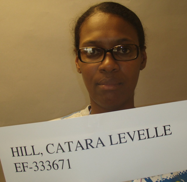 State of Georgia parole photo of convicted Augusta teen killer Catara Levelle Hill - who was paroled in 2011 about 19 years after she murdered 17-year-old Phalonda Howard.