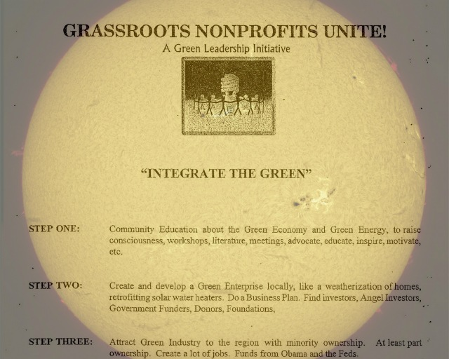 Green Grassroots Team - Sun Solar Collage