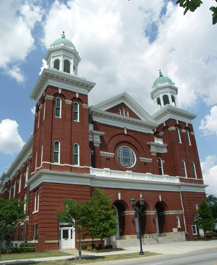 Tabernacle Baptist Church in Augusta, Georgia - Photo by Rebecca Rogers