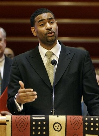 The Rev. Otis Moss III: Photo from the Click For Justice and Equality Blogspot page
