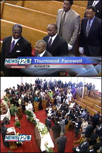 WRDW TV-12 coverage Barbara Thurmond Farewell: Remembering an Angel