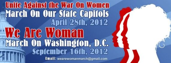 War on Women Banner