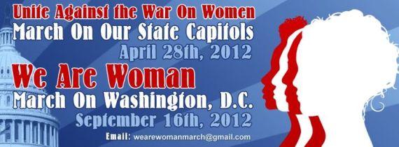 War on Women Banner