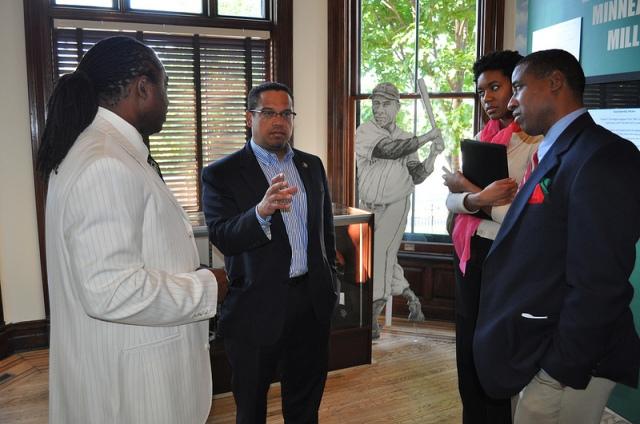 U.S. Rep. Keith Ellison , Minnesota African American Museum