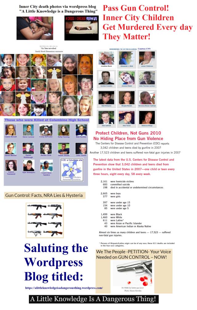 Gun Violence Collage