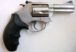 Smith and Wesson Model 60 .38 Special revolver with a 3-inch barre photo by Wikipedia username Dori
