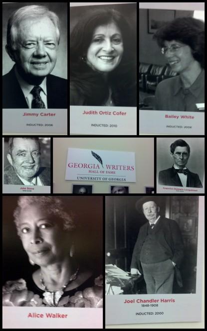 GA Writers, TV Hall of Fame Collage TD pixs