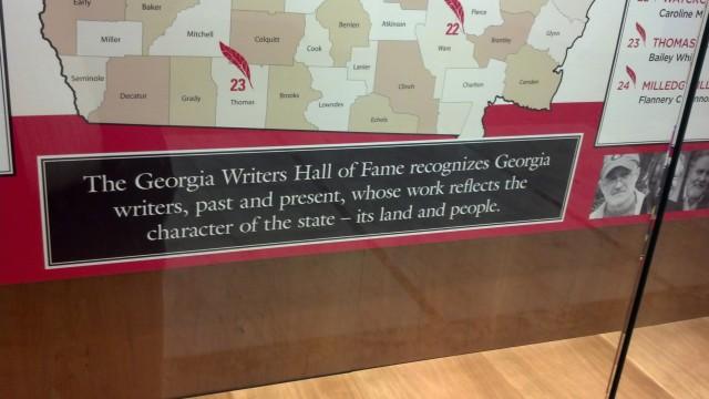 Georgia Writers Hall of Fame (1)