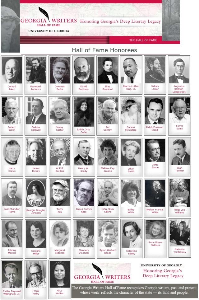 Georgia Writers Hall of Fame (14)