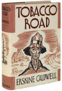Tobacco Road Novel cover